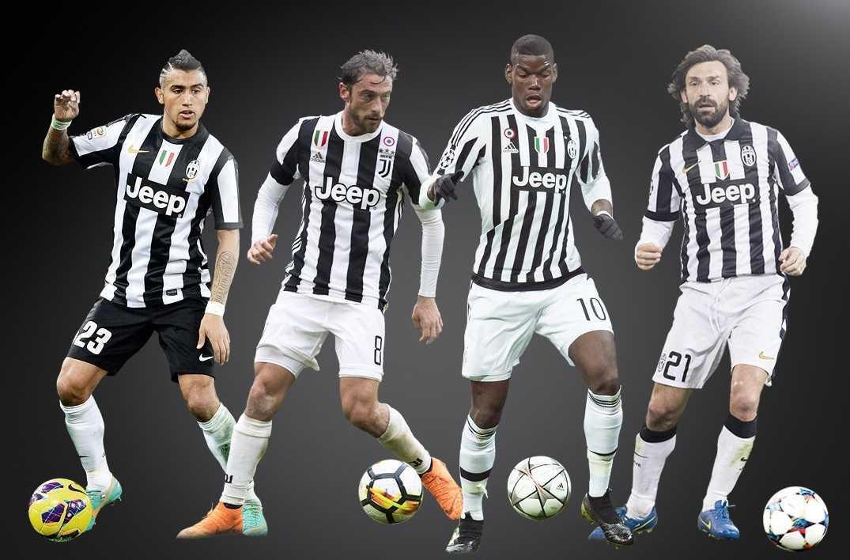 Juventus: l'evoluzione del centrocampo da Conte a oggi