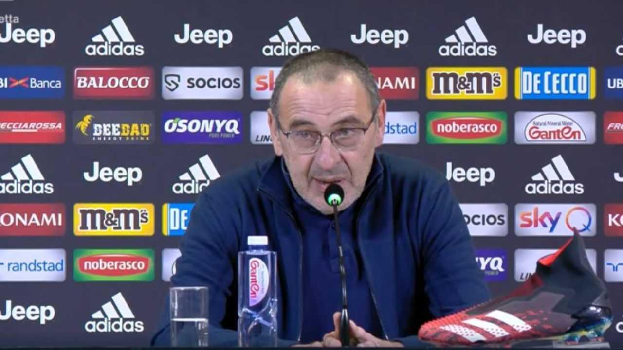 "Napoli-Juventus, Sarri: ""Situazione momentanea"""