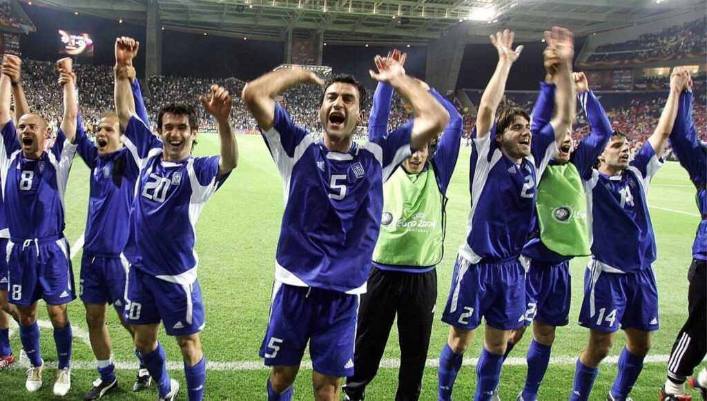 Europei 2004: la favola della Grecia