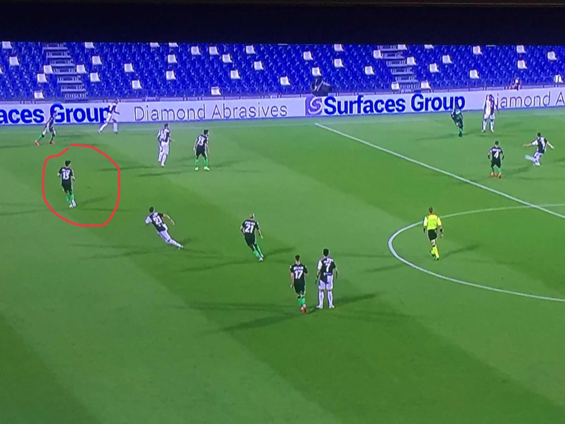 Sassuolo-Juventus (3-3): analisi tattica e considerazioni