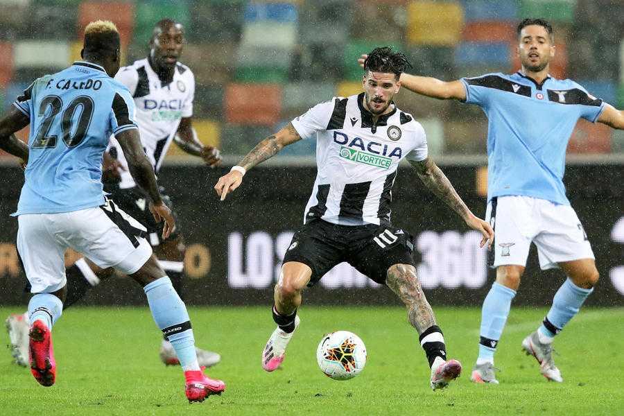 """Udinese-Lazio 0-0, Gotti: """"Contro questa Lazio persi due punti"""""""