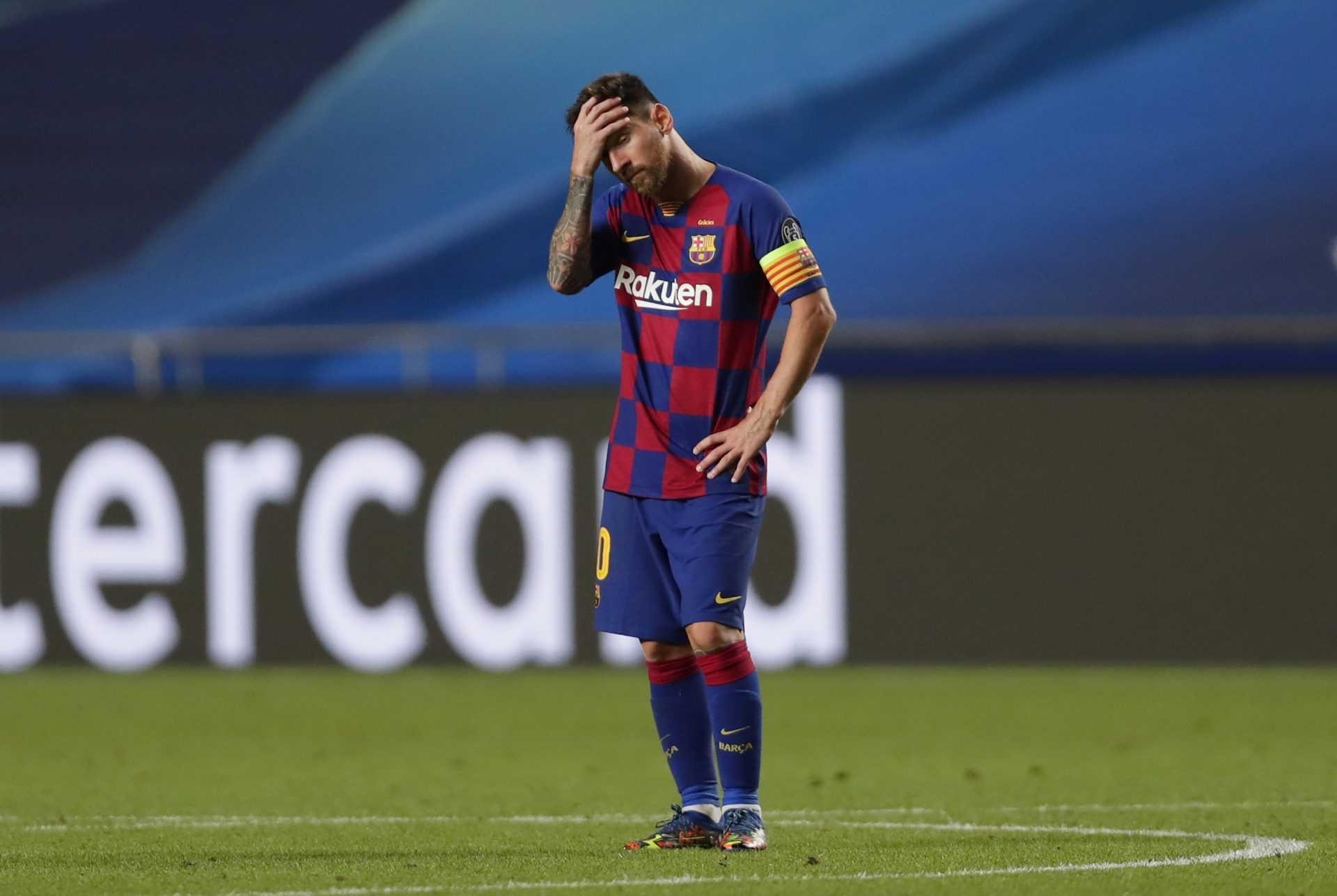 Lionel Messi è svincolato dal Barcellona