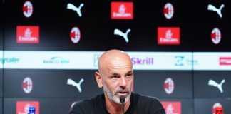 conferenza stampa Milan-Atalanta Pioli