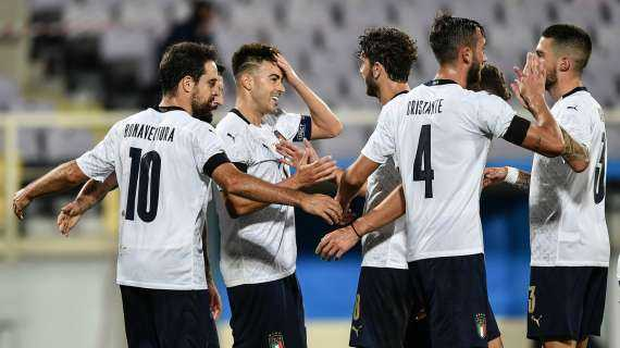Italia-Moldova 6-0, tutto facile per gli Azzurri in amichevole