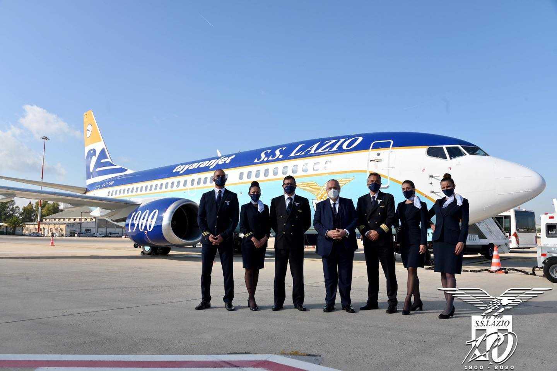 Nuovo aereo Lazio: Luis Alberto s'infuria