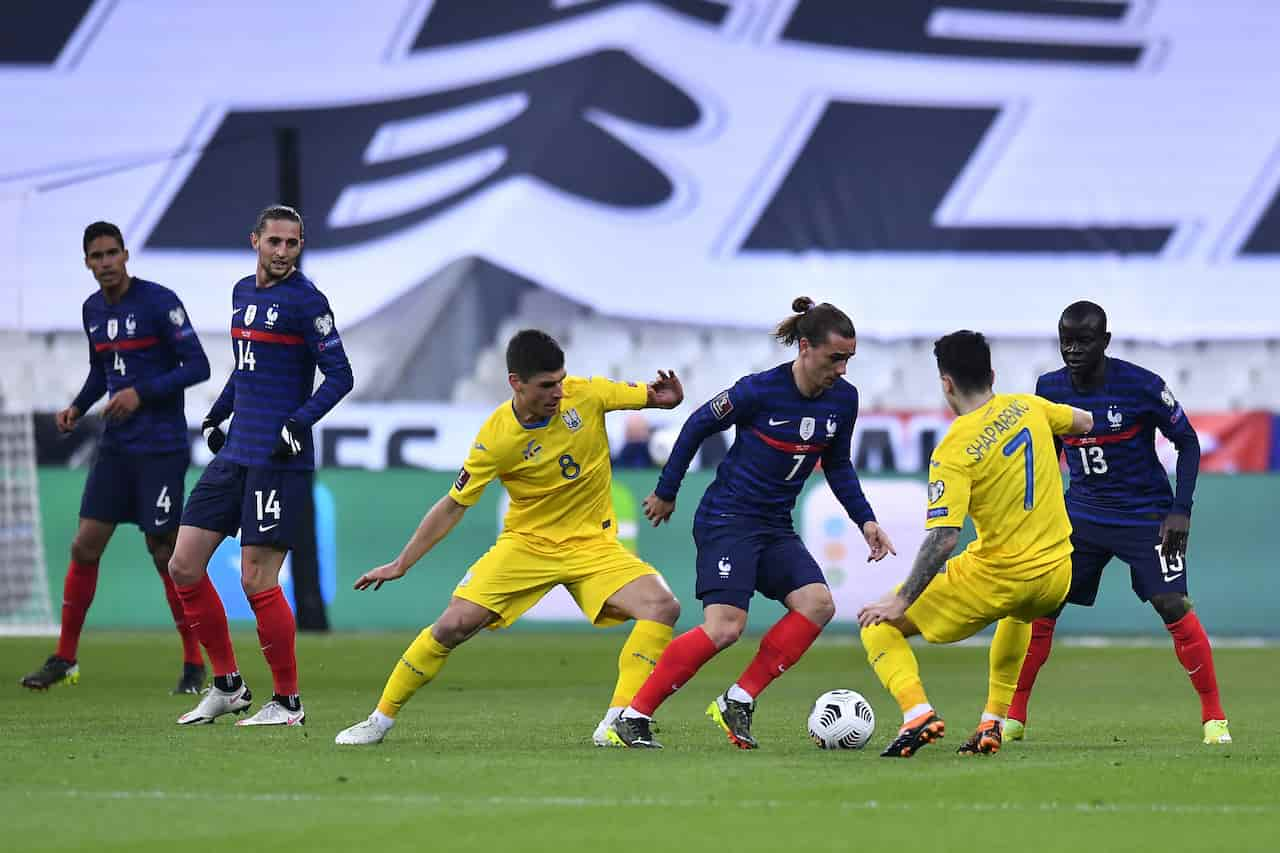 Qualificazioni Mondiali: l'Ucraina ferma la Francia, Olanda ko