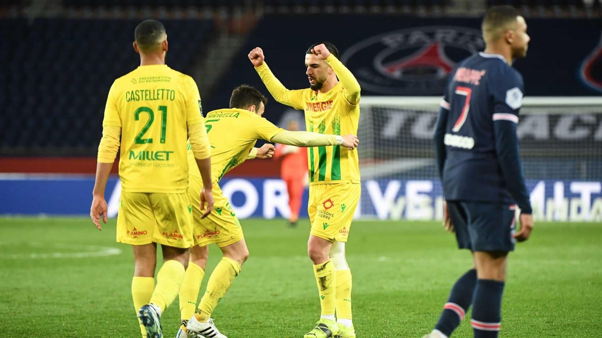 Ligue 1, giornata 29: il Nantes sbanca Parigi, Monaco-Lille 0-0