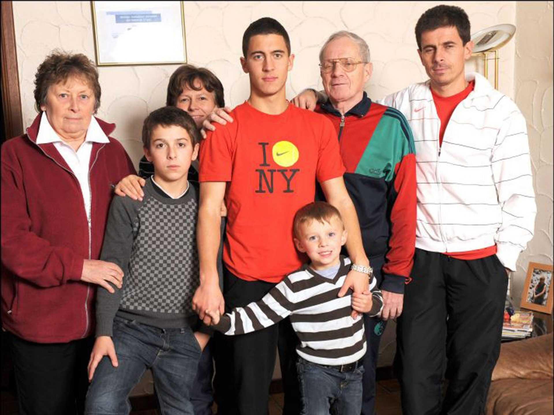 La famiglia nel pallone: i fratelli Hazard