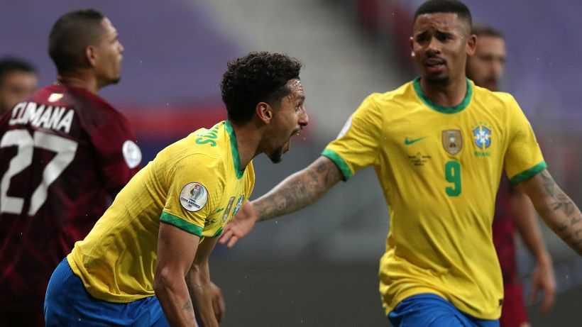 Coppa America, turno 1: pareggia l'Argentina, tris del Brasile