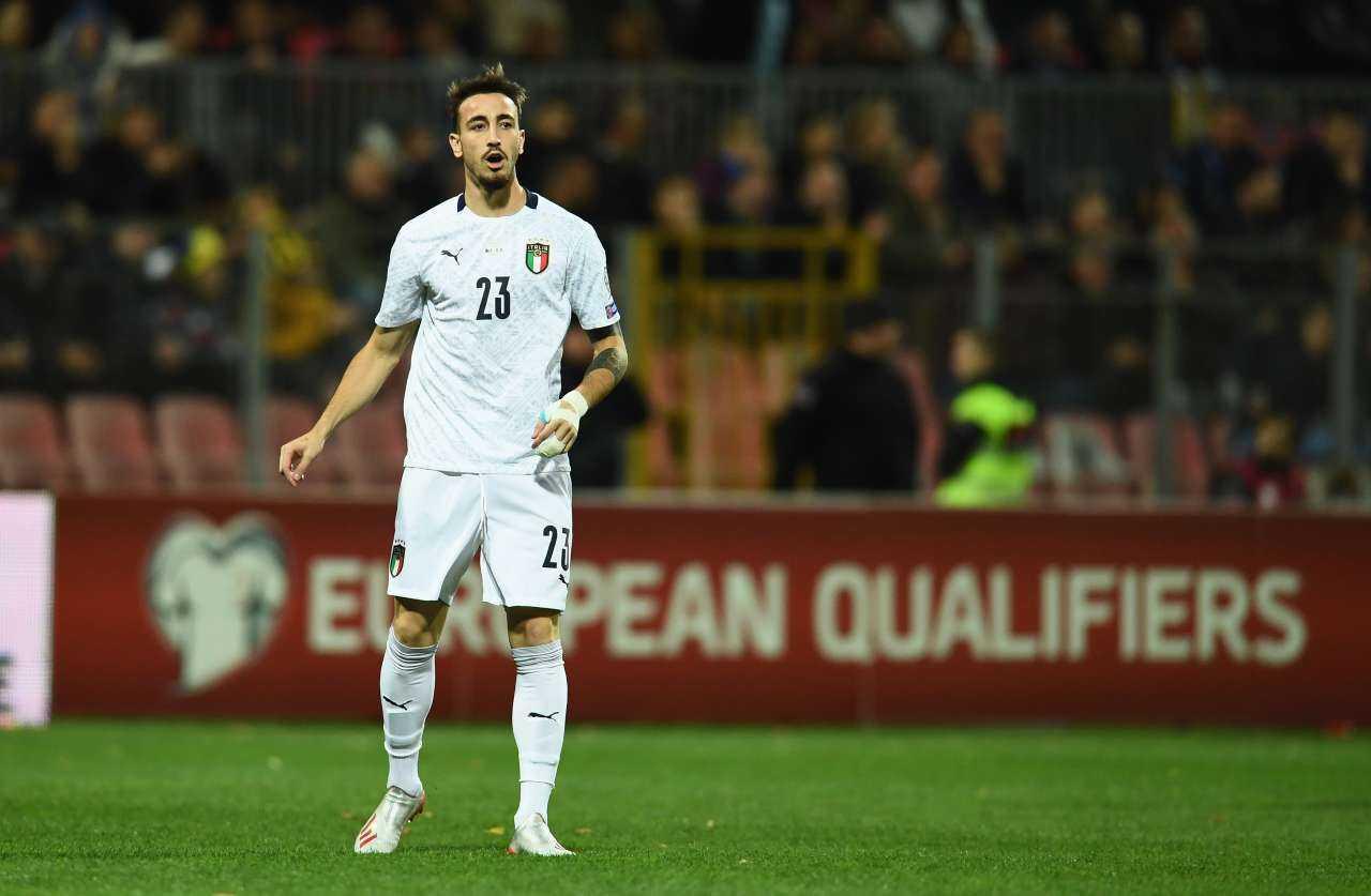 Lorenzo Pellegrini lascia il ritiro dell'Italia: Castrovilli al suo posto
