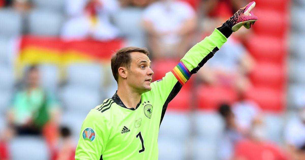 Euro 2021, niente arcobaleno all'Allianz Arena