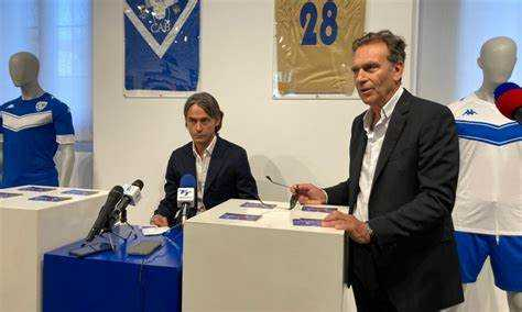 Filippo Inzaghi al Brescia: l'ex-bomber riparte dalla Serie B