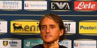 conferenza Italia Spagna Mancini