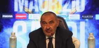 Conferenza Lazio Spezia Sarri
