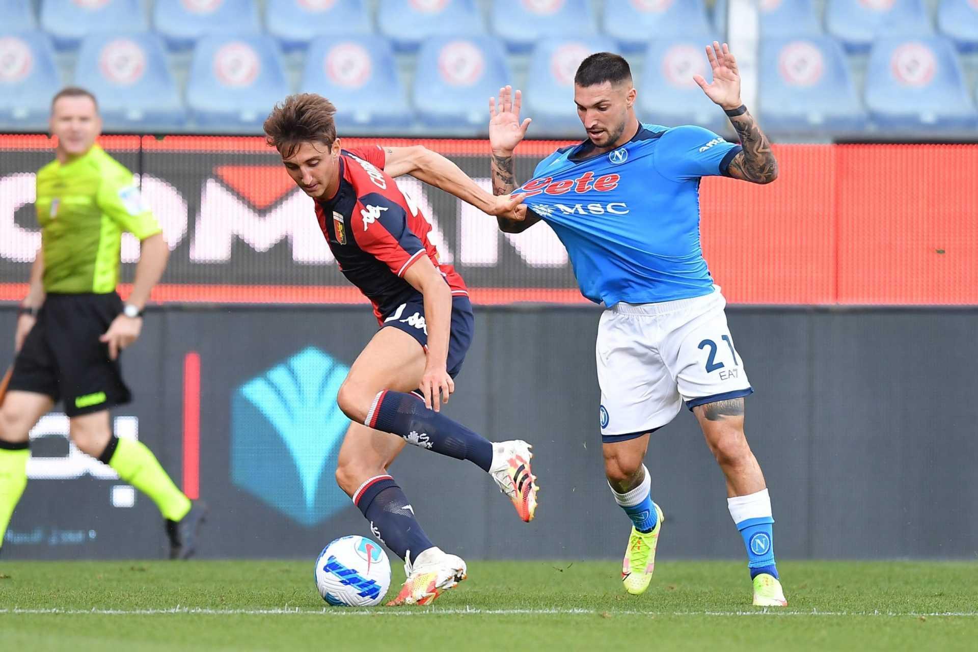 Le pagelle di Genoa-Napoli (1-2): la decide Petagna