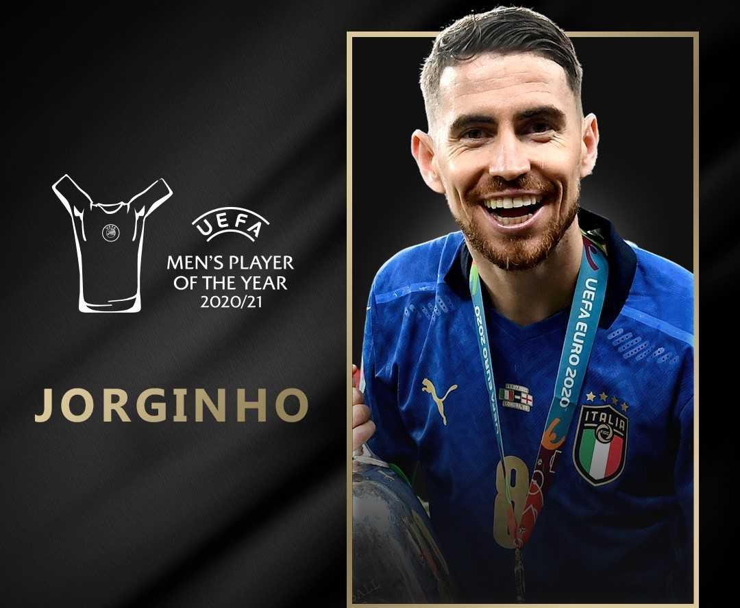 Jorginho re d'Europa: è il calciatore dell'anno UEFA