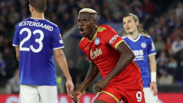 Le pagelle di Leicester-Napoli (2-2): Osimhen la ribalta