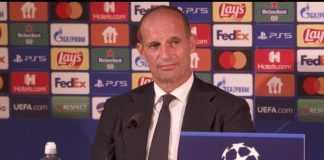 conferenza Juventus Chelsea Allegri