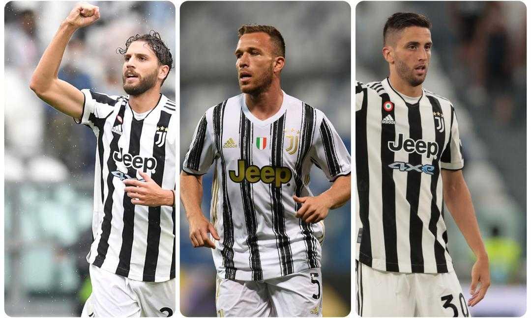 Juventus: come cambia il centrocampo col ritorno di Arthur?