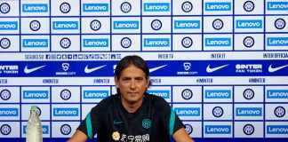 conferenza Lazio Inter Inzaghi